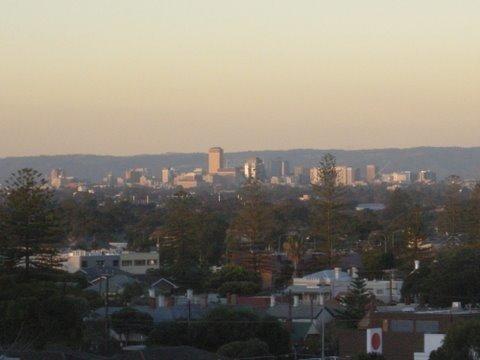 Adelaide from Glenelg
