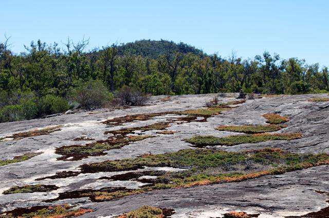 Sullivan's Rock and Mt Vincent
