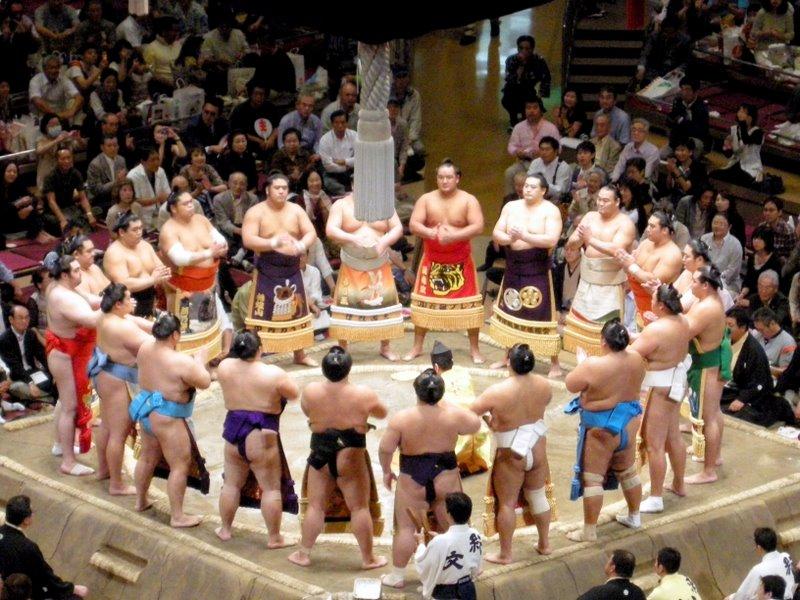 The makuuchi rikishi