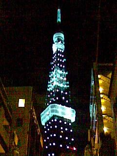 Tokyo Tower from outside Nodaiwa