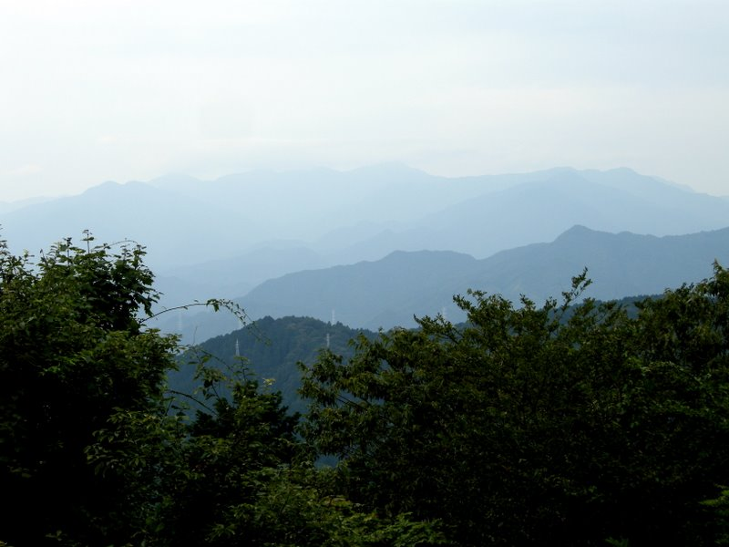 View from Takao-san
