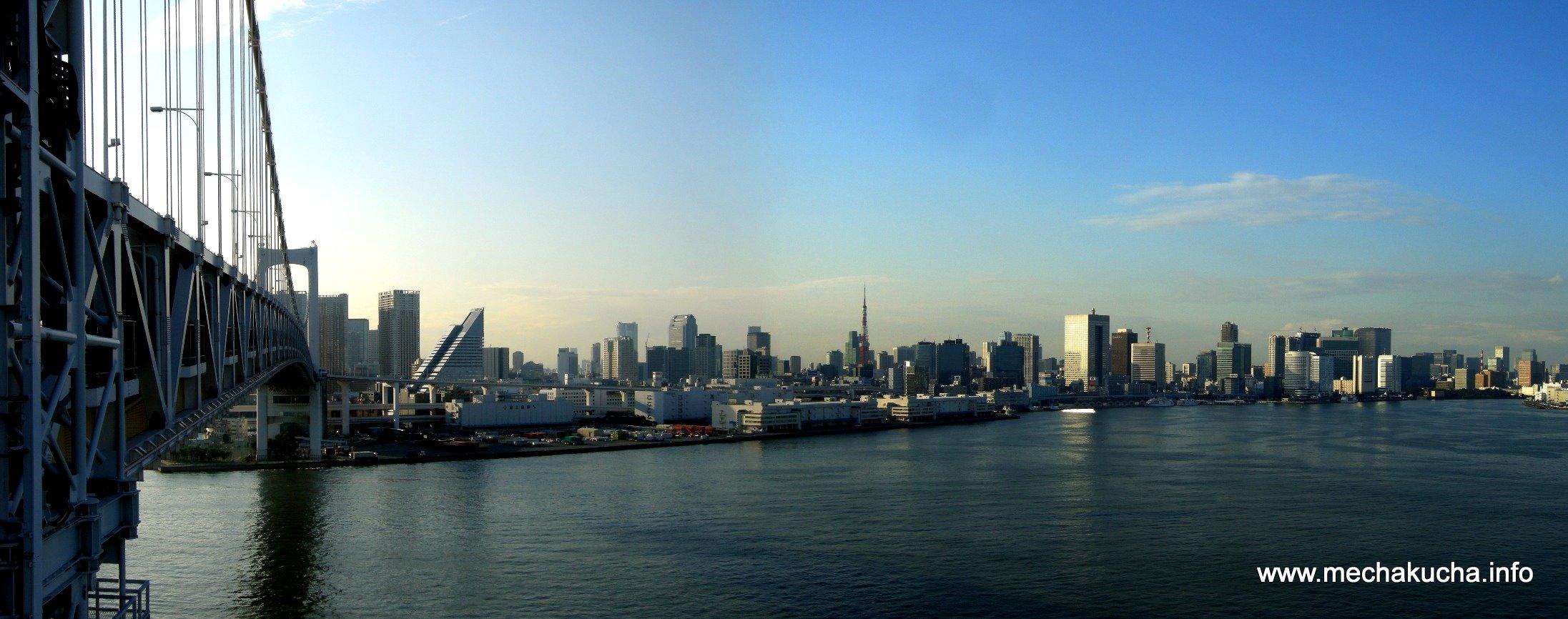 Rainbow Bridge to Tokyo Tower