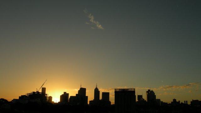 Last sunset of 2008
