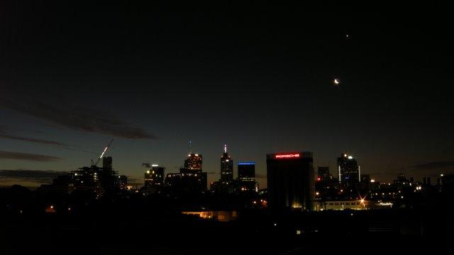Twilight on New Years Eve