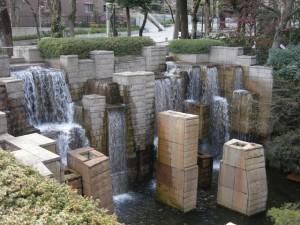 Modern installation between Shinagawa and Osaki